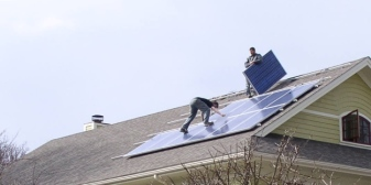 Home Construction - Solar Installation