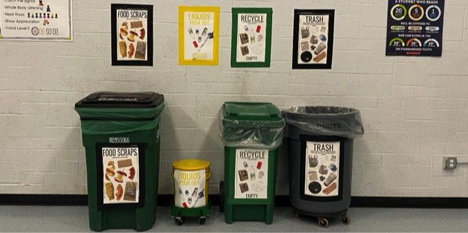 Mason-Rice Elementary Composting