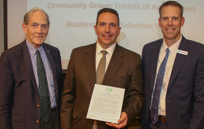 GN's Peter Smith with Jack Fucci, President and CEO;  Trevor Williams, Vice President of Operations