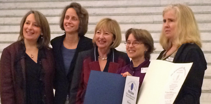 Green Newton Honored at Statehouse Ceremony